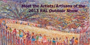 Meet More of the Artists/Artisans of the 2013 Outdoor Show
