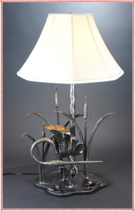 Heron Lamp by Nick Vincent
