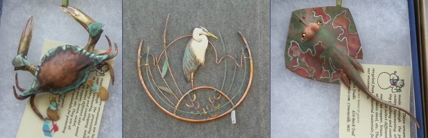 Recycled Metal Artwork by Yan Dong Wang