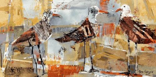 """""""Beach Birds,"""" by Tara Funk Grim"""