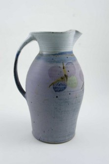 ceramic pitcher with flowers by Alan Burslem