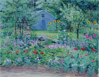 """Hosta Garden,"" by Carol Gray"