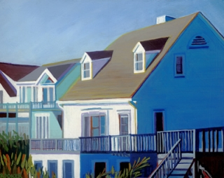 """Atlantic Avenue Sunrise,"" by Jan Crooker"