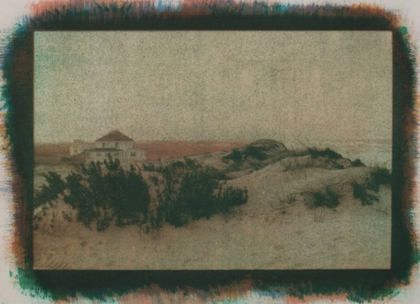 """Manteo,"" by Alan Dehmer - gum bichromate photographic print"