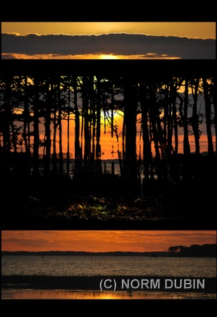 """Chincoteague Sunset,"" by Norm Dubin"