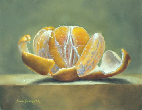 """Peeled Orange,"" by John Schisler"