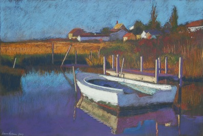 """Boat at End of Tangier,"" by Laura Hickman"
