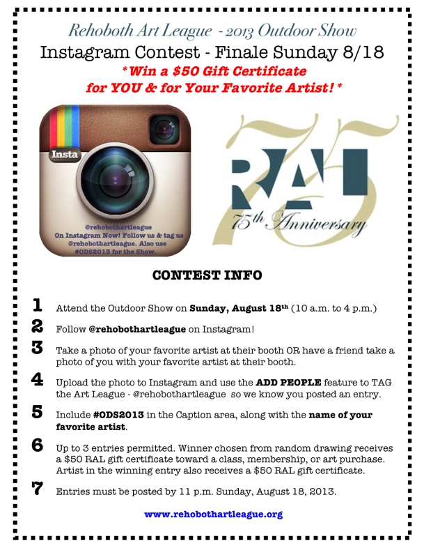 RAL Instagram contest for ODS 2013