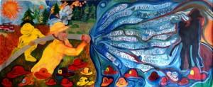 Art Miles Adult Mural